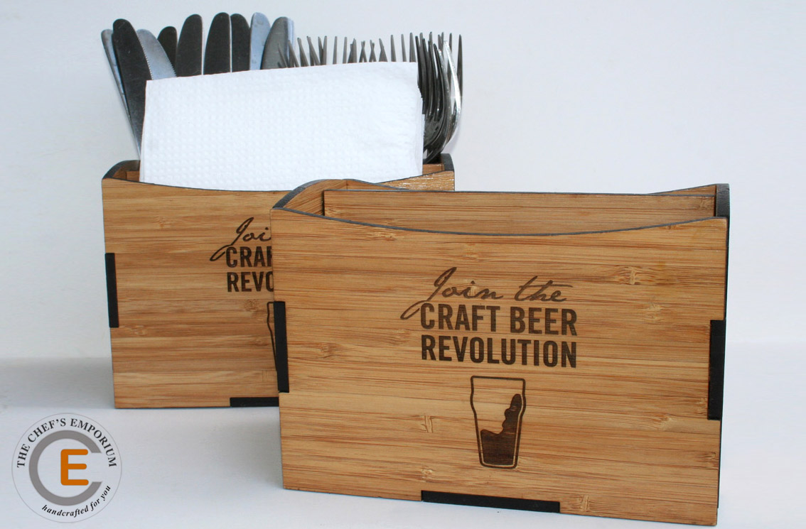 Cutlery Caddy - Table top organizer for your restaurant table tops.
